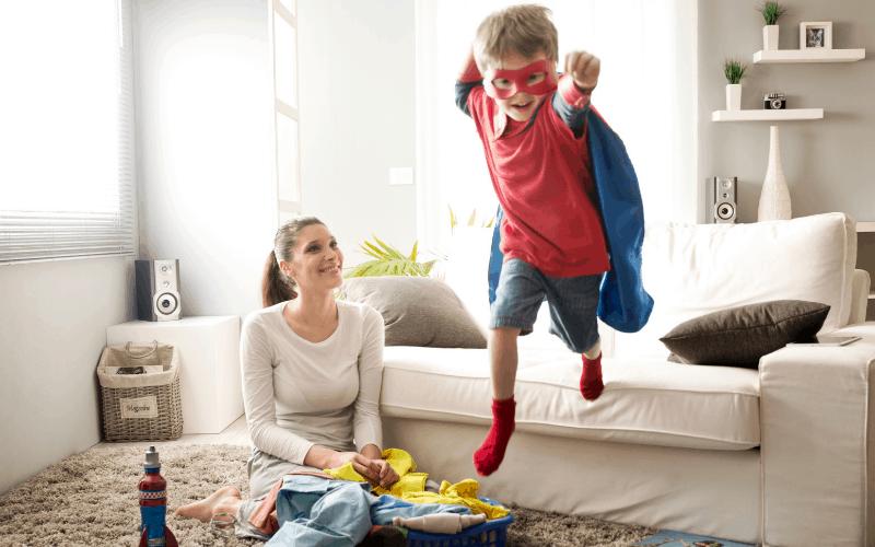 La disciplina es más difícil para usted que para su hijo.