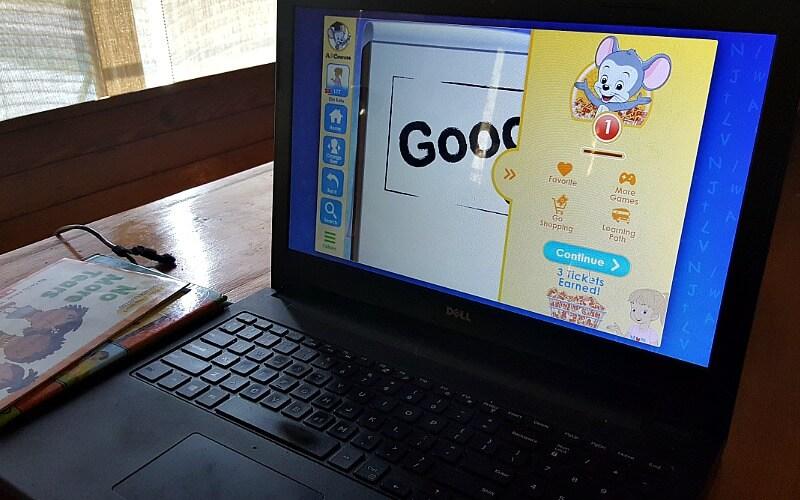 abc mouse en la computadora