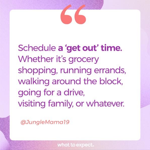 Programe su hora de salida