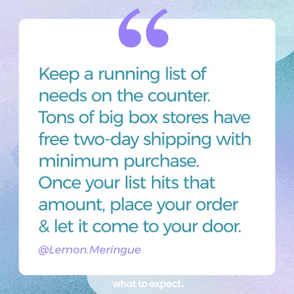 Mantenga una lista actualizada
