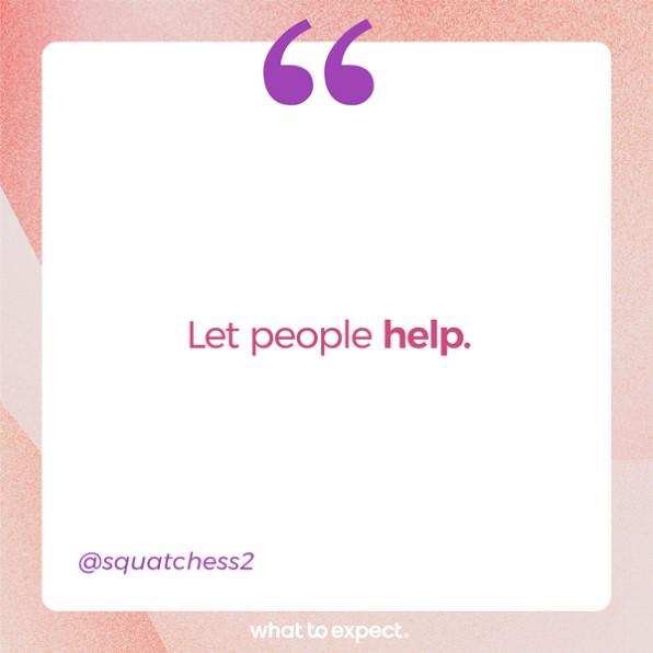 Deja que la gente ayude