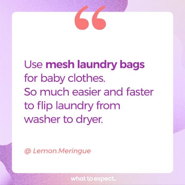 Bolsas de red para lavandería