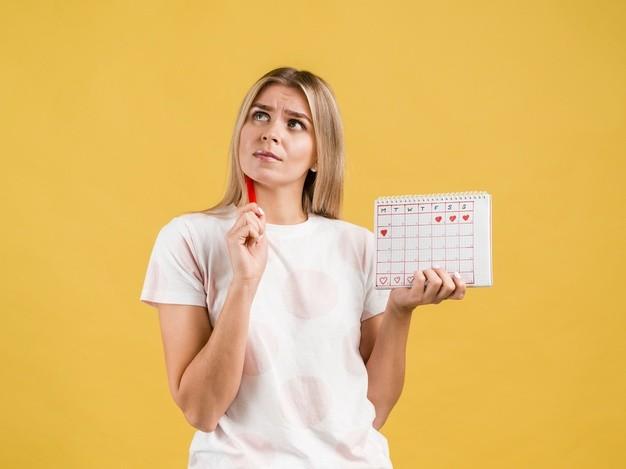 Calculadora de ovulación y calendario