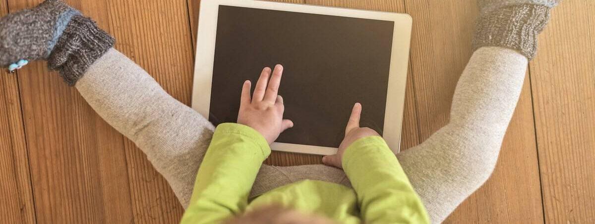 El amigo favorito de mi niño pequeño es su Tablet_mini