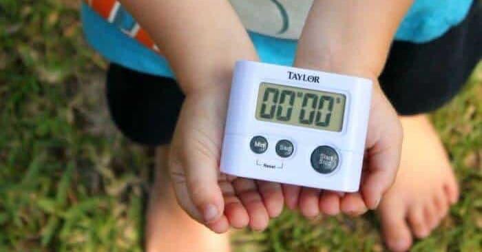 Más de 20 formas de usar el temporizador con los niños (¡excelente para las rutinas!)