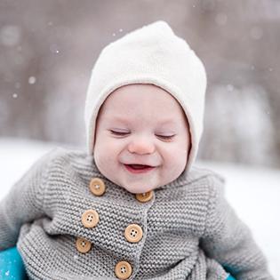 Viste a tu recién nacido para cualquier clima